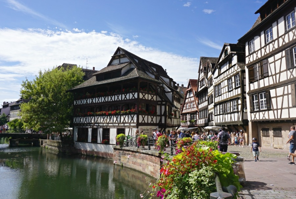 Walk Through A Fairytale In Strasbourg And Colmar France: colmar beauty and the beast